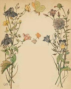 E' stata una rinomata illustratrice tedesca (1882-1973). Lilia ne ha parlato un pochino qui: http://soloillustratori.blogspot.it/2014/04/...