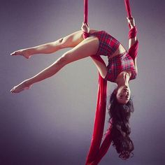 These lines! Aerial Acrobatics, Aerial Dance, Aerial Hoop, Aerial Arts, Aerial Silks, Flexibility Dance, Flexibility Training, Silk Dancing, Black Milk Clothing