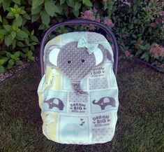 Fitted Elephant Car Seat Cover With A Peek-A-Boo Opening,Fleece And Minky, Infant Car Seat Cover , Baby Shower Gift, Ready To Be Shipped by lindasnd on Etsy Baby Girl Strollers, Baby Carrier Cover, Baby Must Haves, Baby Skin, Baby Care, Baby Car Seats, Baby Shower Gifts, Printing On Fabric, Infant