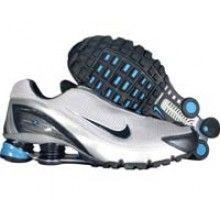 Nike Shox Turbo IV 315378 041 silver obsidian photo