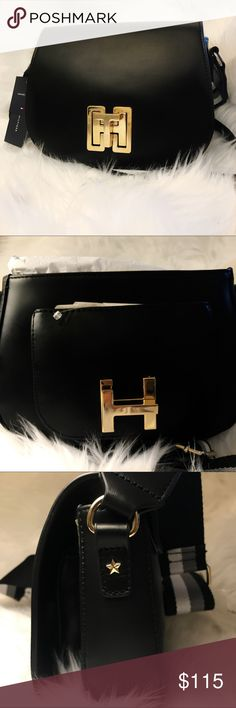 ❗️FINAL❗️ Tommy Hilfiger Leather Cross Body Bag BRAND NEW *** GENUINE LEATHER*** ADJUSTABLE STRAPS*** cutest bag ever tbh Tommy Hilfiger Bags Crossbody Bags