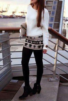 Falda outfits