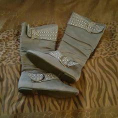 Shoes Grey Shoes Winter & Rain Boots