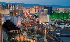 Las Vegas strip (originally spotted by @Trudimkk26 )