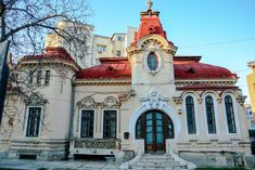 Casa Lipatti Classic Window, Romania Travel, Bucharest Romania, Balcony Design, Out Of This World, Old Houses, Places To Visit, Homes, Memories