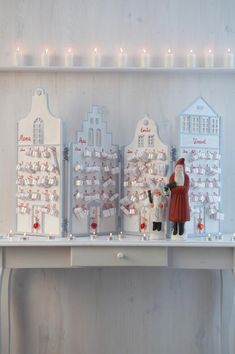 Christmas house Advent calendars from Car Möbel in Germany
