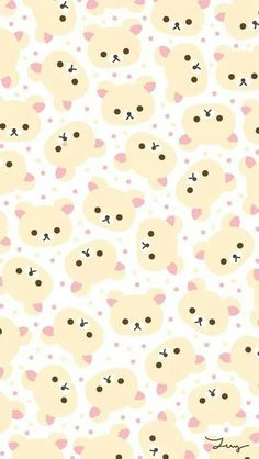 [人気キャラ大盛り]リラックマ2 iPhone壁紙 Wallpaper Backgrounds iPhone6/6S and Plus  Rilakkuma Pattern iPhone Wallpaper