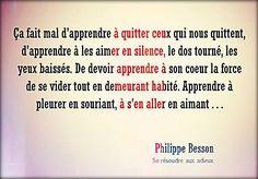 """Philippe Besson """"Se résoudre aux adieux"""""""
