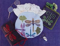 Dragon Flies - Cross Stitch Pattern