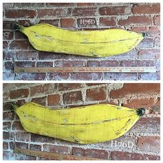 I made a huge rustic vintage distressed weird unnecessary banana because #dreams. Almost 3ft long and quite heavy made from #pallet #oak. #art #artsy #artist #folkart #crafter #crafts #create #creative #banana #diy #decor #design #handmade #handcrafted #handpainted #homedecor #hayes76designs #imake #maker #rustic #reclaimedwood #upcycle #upcycled #vintage #woodwork #woodworker #woodart de tfrancis430