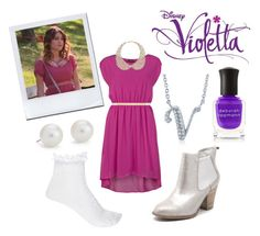 I Love this Pretty and Pink outfit because it's a popular Style of Vilu. 14th Birthday Party Ideas, Rose Granger Weasley, Violetta Outfits, New Outfits, Casual Outfits, Types Of Fashion Styles, Everyday Fashion, Hair Beauty, Deborah Lippmann