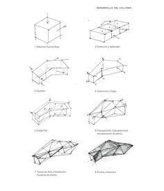 Gallery of Endless Cycling / Rodrigo Cáceres Céspedes - 41 Endless Cycling / Rodrigo Cáceres Céspedes Folding Architecture, Conceptual Architecture, Architecture Concept Drawings, Architecture Graphics, Architecture Design, Conceptual Sketches, Abstract Sketches, Schematic Design, Design Graphique