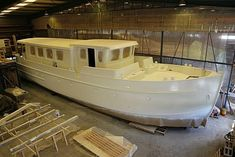 This superb motor cruiser shell is now offered for sale as is, completed as a saleaway or full completed as a 5 star luxury liveaboard cruising motor boat. She is ideal as a floating apartment in one ofthe UK or Europe's major cities. Speed Boats, Power Boats, Barges For Sale, Motor Cruiser, Whitewater Kayaking, Canoeing, Floating Architecture, Dutch Barge, Saloon