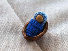 Gehäkeltes Baby in einer Nussschale – ein kleines Weihnachtsgeschenk   MyCrochetProjects