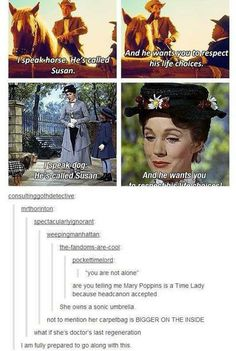 Mary Poppins = Time Lady. Head cannon accepted.