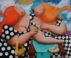 Varieté de Láminas para Decoupage: Rellenitas Preciosas! Fat Art, Fat Women, Big And Beautiful, Beautiful Women, Relleno, Caricature, Female Art, Projects To Try, Animation