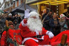 Father Christmas enjoying the fun