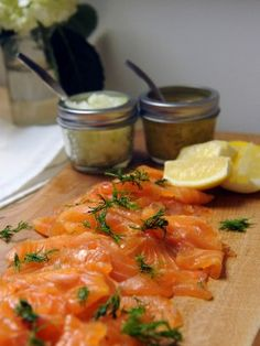 Gravlax : Recipes : Cooking Channel (Chuckmas episode). Making this for New Years Eve.