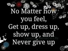 never give up, queen, selfsteem