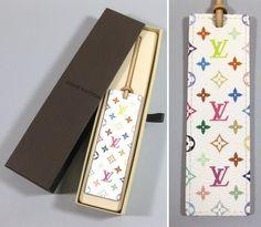 Louis Vuitton segnalibri bookmarks