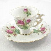 Occupied Japan Rose Tea Set | ... demitasse tea cups and saucers - Occupied Japan china @ LL Boutique