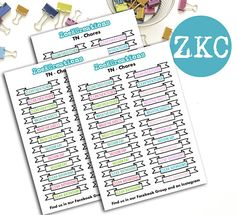 Cleaning Planner Stickers  Chores Planner Stickers