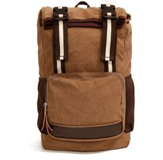 99 Time-free shipping vintage fashion leisure canvas leather backpack,canvas bag,waterproof canvas backpacks,canvas back pack $47.55