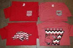 <3 razorback shirts