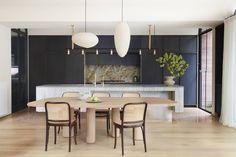 Gallery of La Casa Rosa / Luigi Rosselli Architects - 5 Luigi, Residential Architecture, Interior Architecture, Interior Design, Timber Window Frames, Architects Sydney, Blue Mosaic Tile, Terrazzo Flooring, Elegant Homes