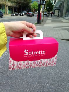 The Soirette #downtown Vancouver #west Pender St. #togo