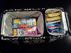 Large Utility Tote with single and double thermal organizer! LOVE IT!