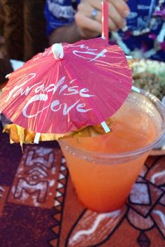 Drink at the Paradise Cove Luau #travel #hawaii...cant wait :)