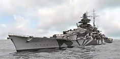 German battleship Tirpitz sister ship to the Bismark