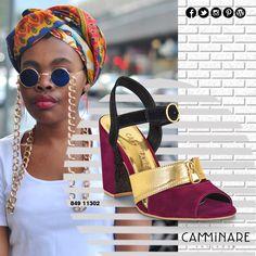 A semana começou!  Nada melhor do que colocar um salto bloco, cujo sobrenome dele é conforto!  Esse modelo com detalhe de zíper é perfeito para compor um look super estiloso! ❤️ #camminare #shoes #love #moda #mulheres #fashion #streetstyle #style #bestfriends