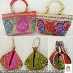 "Search for ""just for you- return gifts & trousseau pack"" on Facebook"