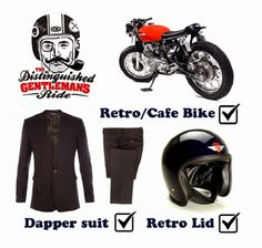 The Distinguished Gentleman's Ride 2014 #lifestyle #motorcycles #motos | caferacerpasion.com