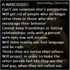 A narcissist was my Mother. Toxic relationship Hell. I can check off everything on this list.