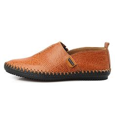 Casual Hand-made Breathable Soft Flat Oxfords For Men - Banggood Mobile