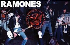 NEW THE RAMONES LIVE POSTER - RARE PUNK ROCK 24X36