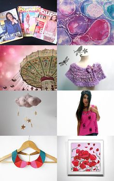 Colorful Style by Elinor Levin on Etsy--Pinned with TreasuryPin.com