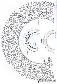 Discover thousands of images about bolero crochet elegant Crochet Collar Pattern, Col Crochet, Crochet Lace Collar, Crochet Chart, Filet Crochet, Crochet Tablecloth, Crochet Doilies, Crochet Flowers, Crochet Accessories