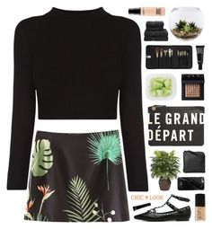 """""""CHIC LOOK CLOSET"""" by novalikarida ❤ liked on Polyvore featuring Clare V., Nearly Natural, Home Essentials, NARS Cosmetics, MAC Cosmetics, Native Union, Xenab Lone, Sephora Collection, Make and Christy"""