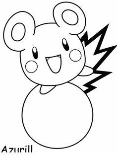 Disegni da colorare per bambini. Colorare e stampa Pokemon 66