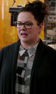 Get the iGreen Eyewear V 4.05 C02M Eyeglasses seen with Abby Yates, played by Melissa McCarthy, in the movie Ghostbusters (2016). Discover products and locations from movies and TV shows with TheTake.