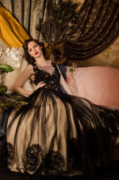 Glamour Fairy Tales- The Black Dress by Luciana Varga, via Behance Glam Girl, Queen, Beautiful Gowns, Simply Beautiful, Beautiful People, Elegant Woman, Modern Fashion, Lady, Dress To Impress