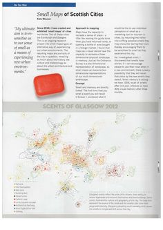 Smell Map of Glasgow