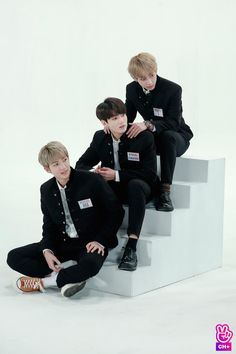 Taekook out there with their fancy shoes.then there's Namjoon.