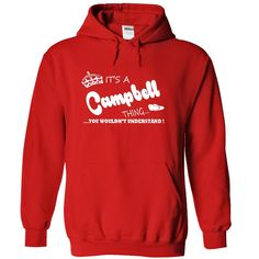 [Hot tshirt name font] Its a Campbell Thing You Wouldnt Understand Name Hoodie t shirt hoodies Discount 10% Hoodies, Tee Shirts