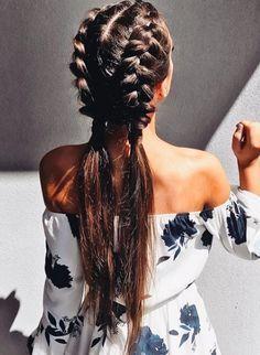 #Trenzas #Braids #LongHair #Hairstyle