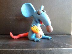 La Rata. Plasticina. Por Pablo Moreno